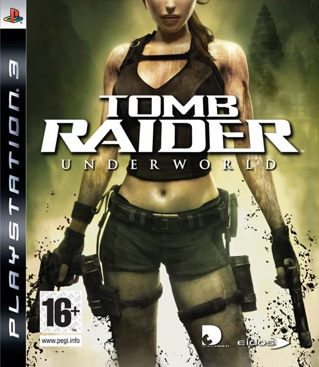 Tomb Raider: Underworld - Playstation Network cover