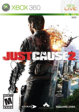 Just Cause 2 - Xbox Live cover