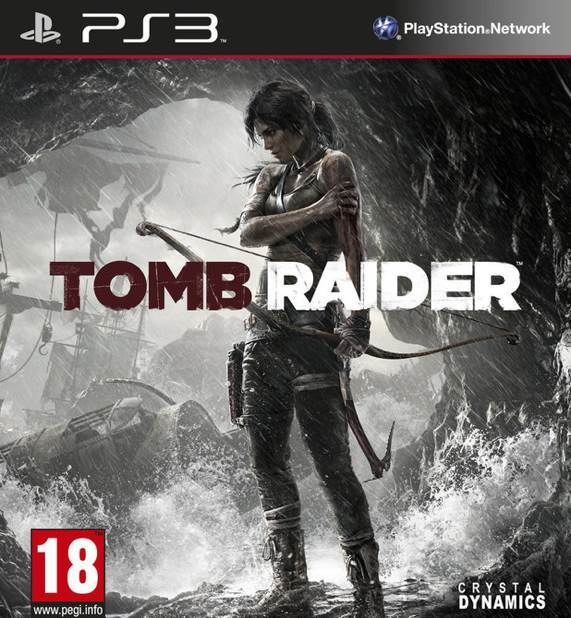 Tomb Raider - PS3 cover
