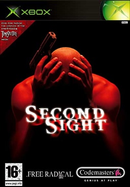 Second Sight - Xbox cover