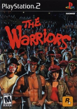 The Warriors - PS2 cover