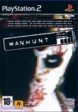 Manhunt Platinum - PS2 cover