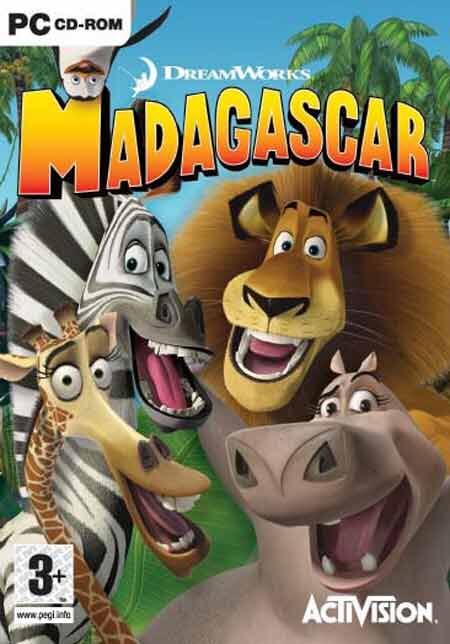 Madagascar - PC cover