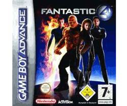 Fantastic 4 - Game Boy Advance cover