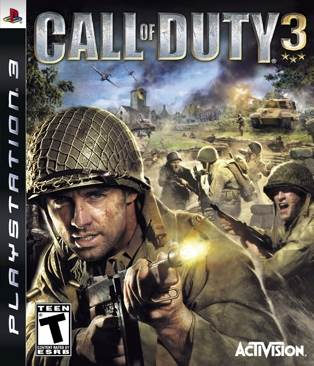 Call Of Duty 3 - Playstation Network cover