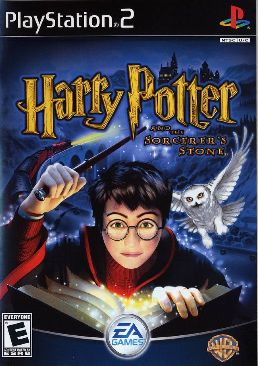 Harry Potter and the Philosophers Stone - PC cover