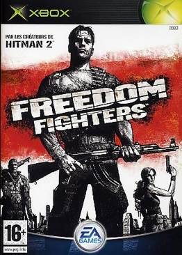 Freedom Fighters - Xbox cover