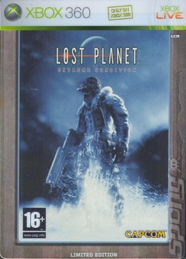 Lost Planet - Xbox 360 cover