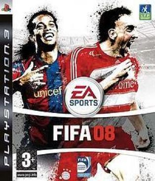 FIFA 08 - PS3 cover