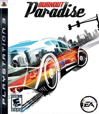 Burnout Paradise - PS3 cover