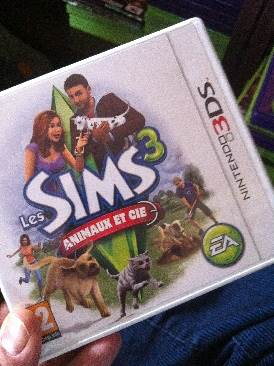 The Sims 3 - 3DS cover