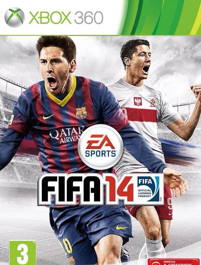 FIFA 14 - Steel Book - Xbox 360 cover