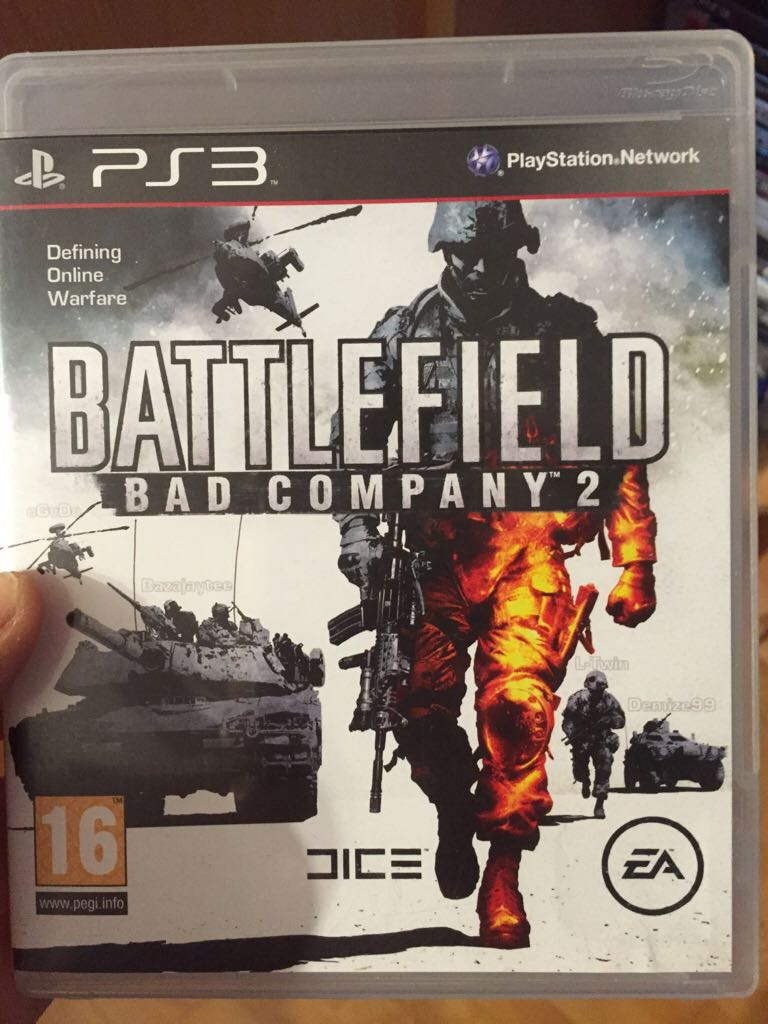 Battlefield Bad Company 2 - PS3 cover
