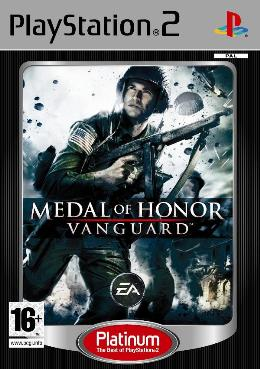 Electronic Arts Medal of Honor Vanguard Platinum -  cover