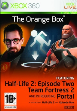 Half-Life 2: The Orange Box - Xbox 360 cover