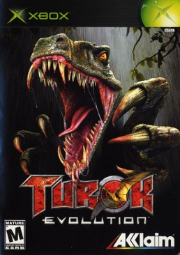 Turok: Evolution - Xbox cover