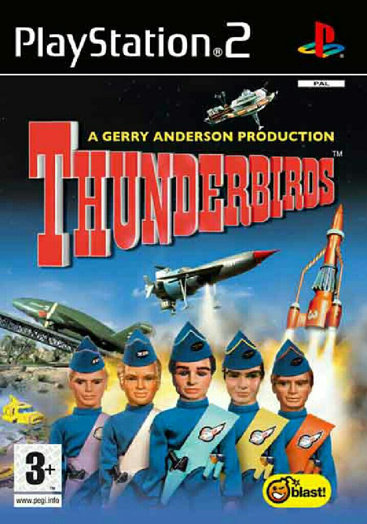Thunderbirds - PS2 cover