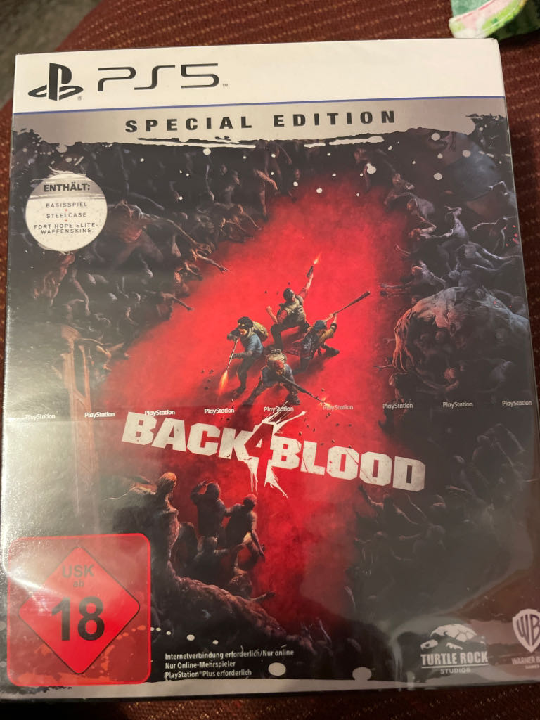Back4Blood Special Edition - PS5 cover