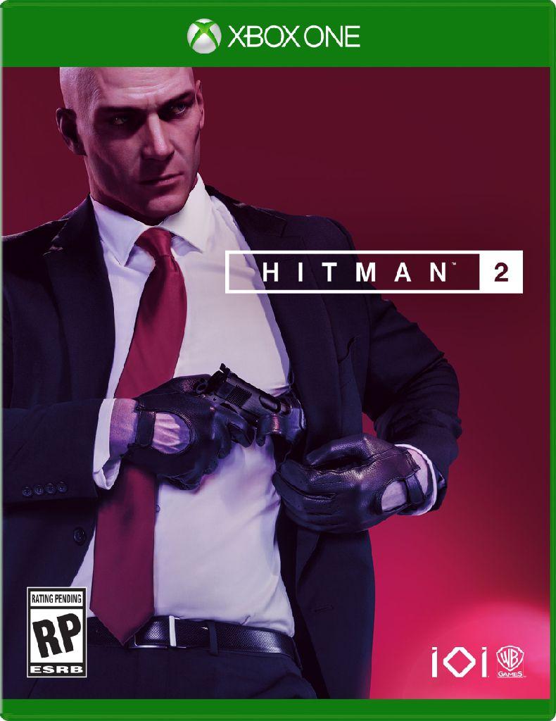 Hitman 2 - Xbox One cover