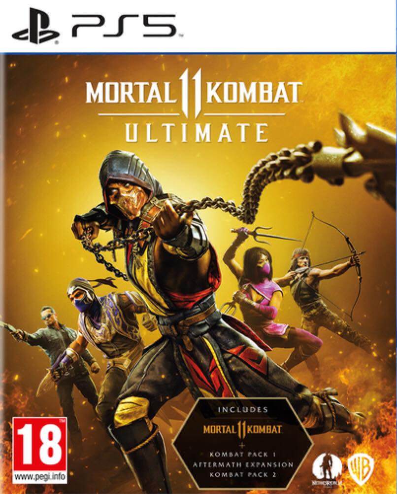 Mortal Kombat 11: Ultimate - PS5 cover