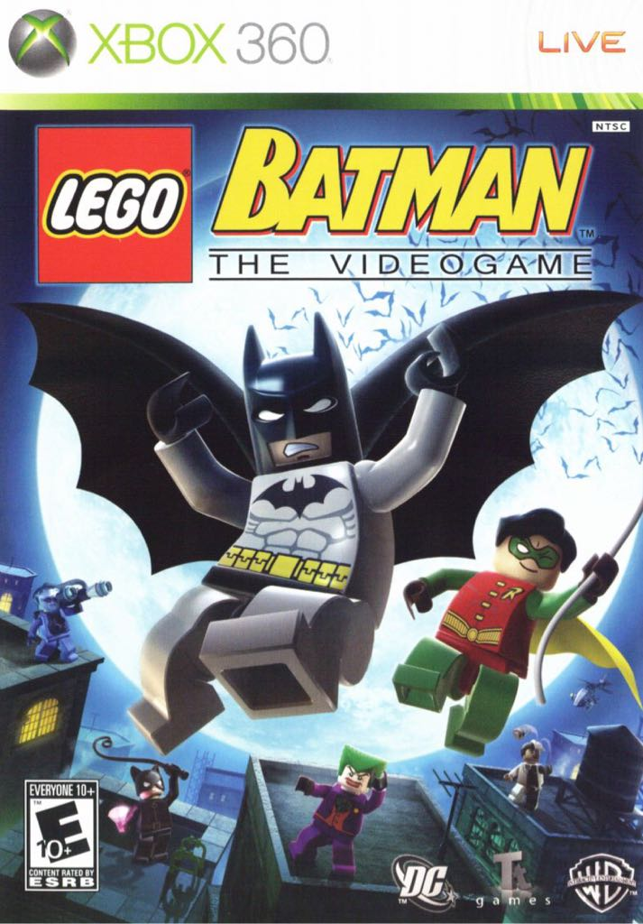 Lego Batman The Videogame - Xbox 360 cover