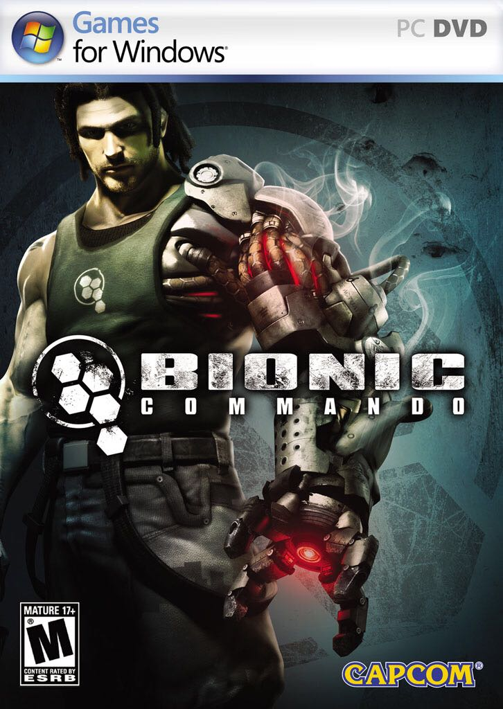 Bionic Commando - PC cover