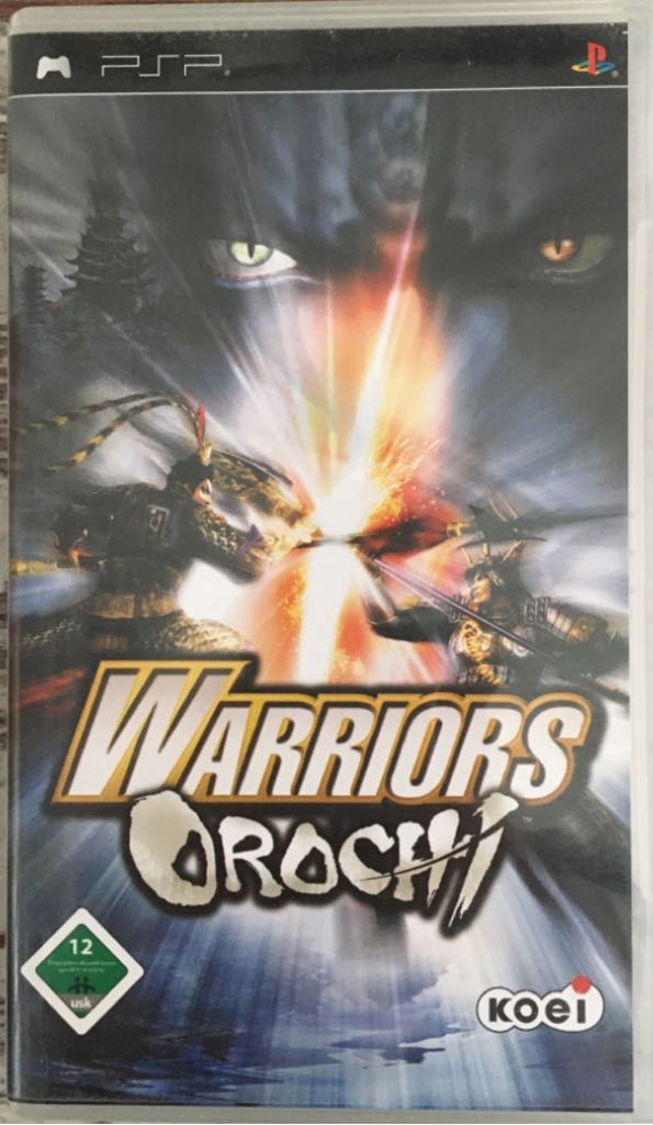 Warriors Orochi PSP Spiel neu - PSP cover