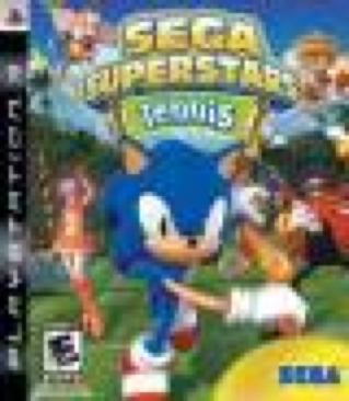 Sega Superstars Tennis - PS3 cover
