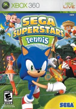 Sega Superstars Tennis - Xbox 360 cover