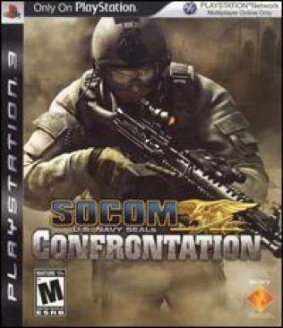 Socom Confrontation - PS3 cover