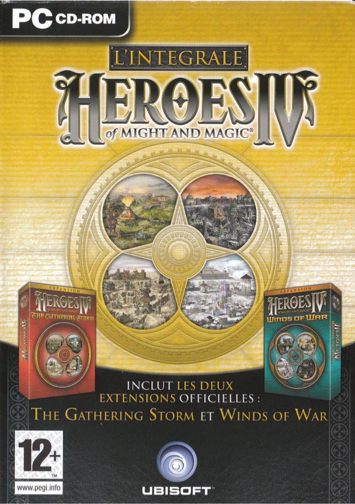 Heroes of Might and Magic IV (polish) - PC cover