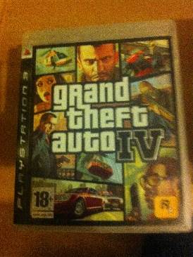 Grand Theft Auto IV - PS3 cover