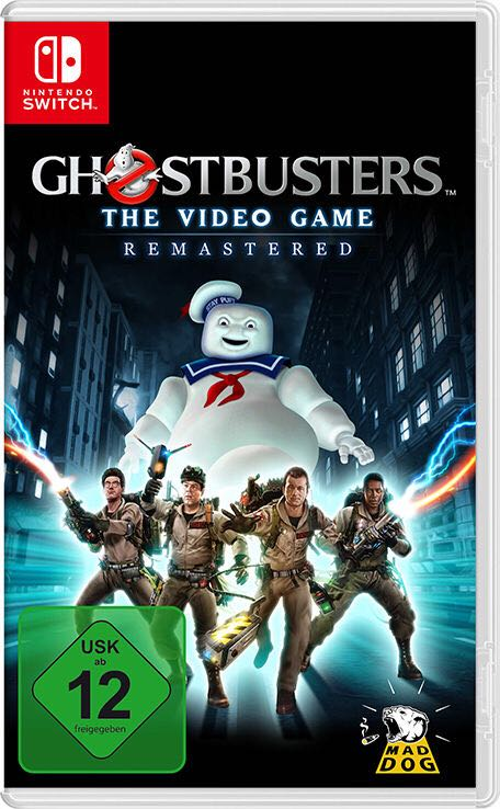 Ghostbusters - Switch cover