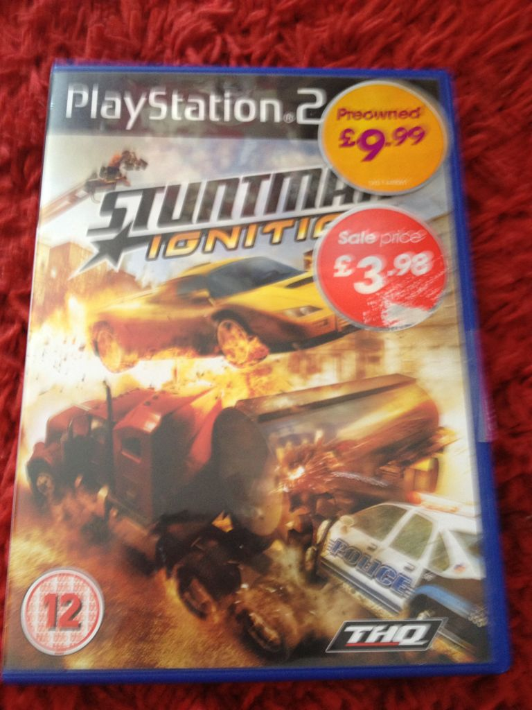 Stuntman Ignition - PS2 cover