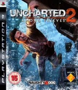 Uncharted 2: Among Thieves - PS3 cover