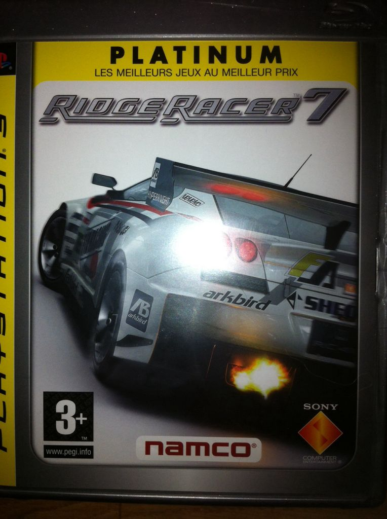 Ridge Racer 7 - PS3 cover
