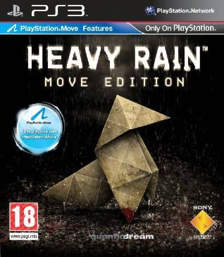 Heavy Rain - PS3 cover