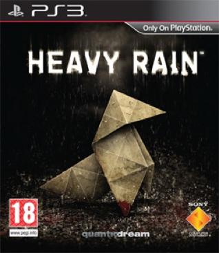 Heavy Rain - PS3 cover