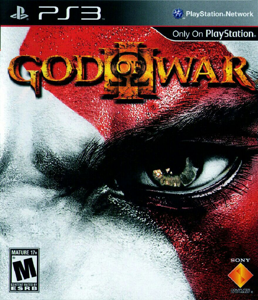 God of War III - PS3 cover