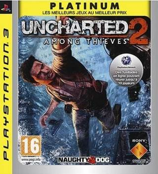Uncharted 2: Among Thieves - Playstation cover