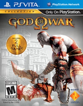 God of War Collection - PS Vita cover
