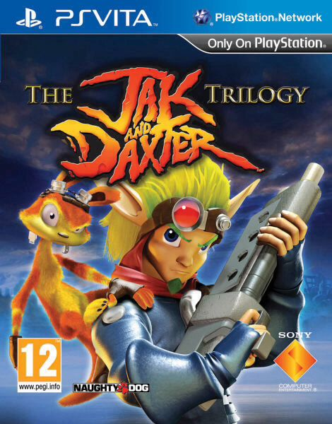 The Jak and Daxter Trilogy - PS Vita cover