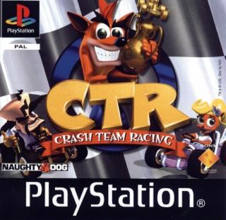 CTR, Crash Team Racing - Playstation cover