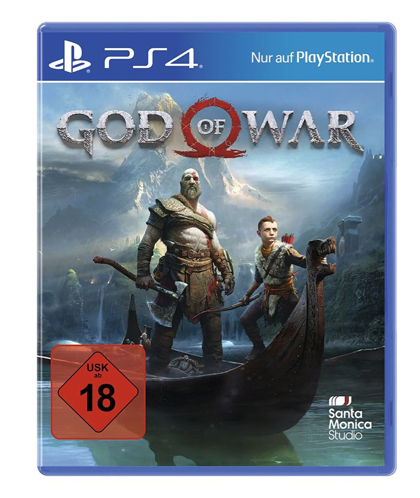 God Of War - PS4 cover