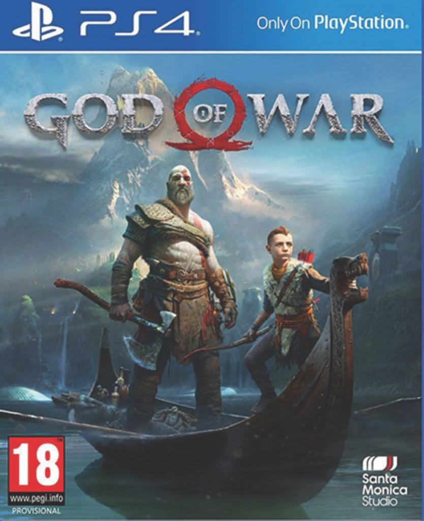 Grand Theft Auto V Ps4 5026555417037 Game God Of War Cover