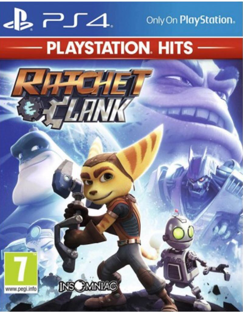 Ratchet and Clank - PS4 cover
