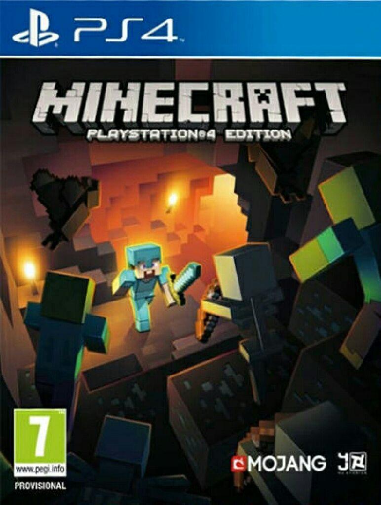 Minecraft - PS4 - 711719440314
