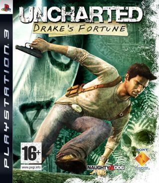 Uncharted: Drakes Fortune - PS3 cover