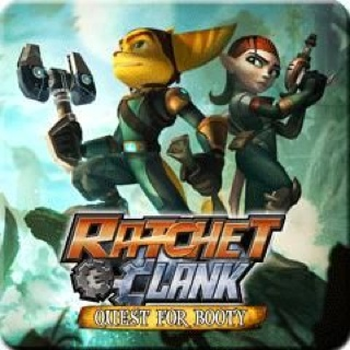 Ratchet and Clank Quest for Booty - Playstation Network cover