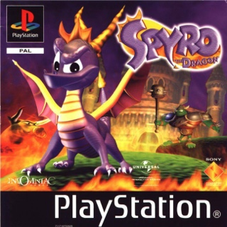 Spyro The Dragon - Playstation Network cover